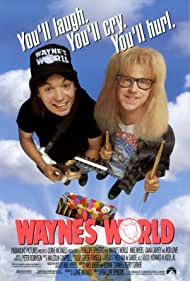 Mike Myers and Dana Carvey in Wayne's World (1992)