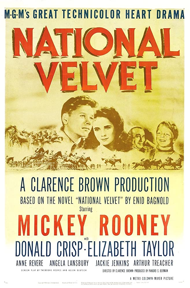 Elizabeth Taylor and Mickey Rooney in National Velvet (1944)