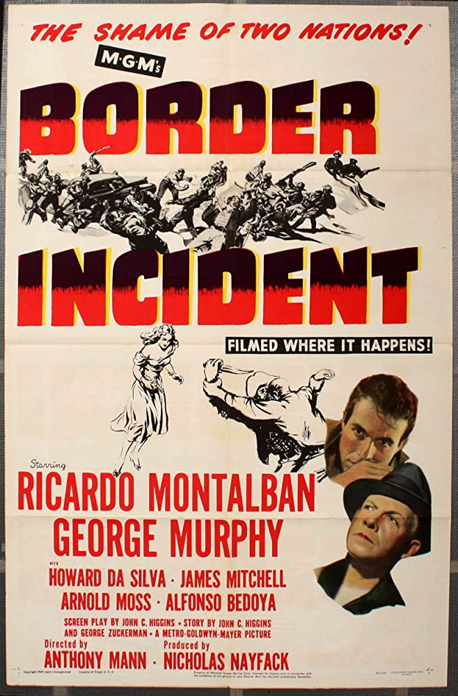 Ricardo Montalban and George Murphy in Border Incident (1949)