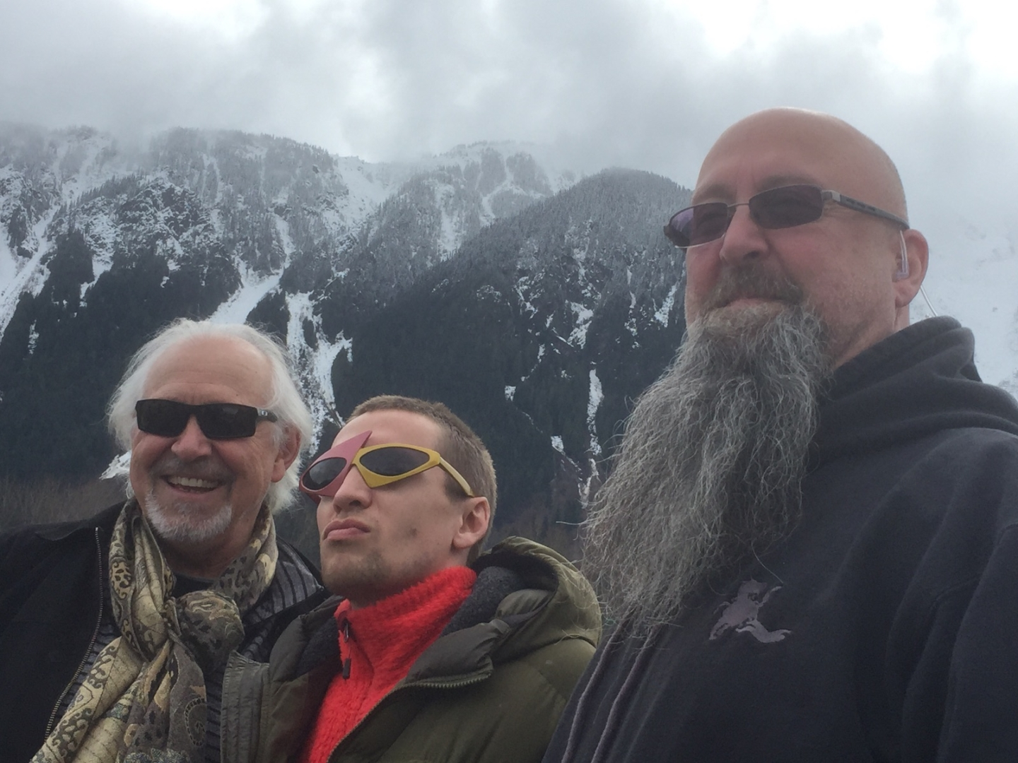 Dead Cold set with Rudy and Les, Pemberton BC