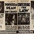 Lon Chaney, Priscilla Dean, and Wheeler Oakman in Outside the Law (1920)
