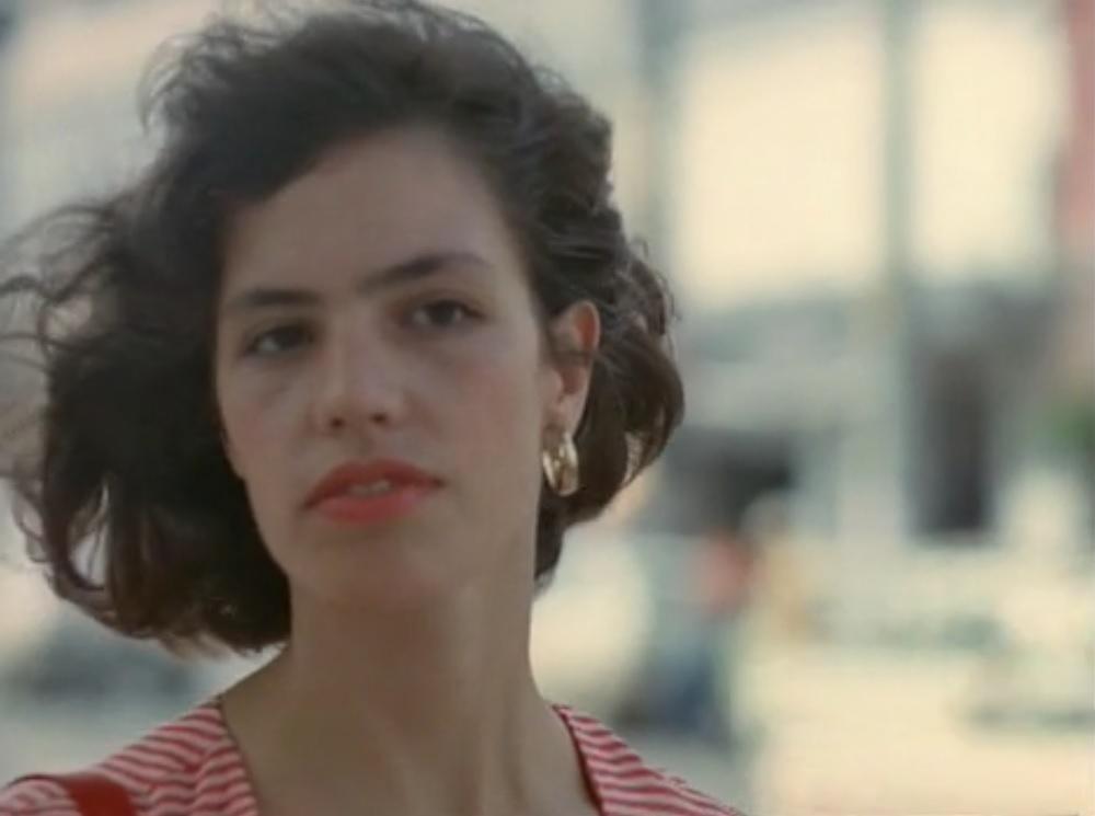 Leda Catunda in Spray Jet (1986)