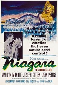 Marilyn Monroe and Joseph Cotten in Niagara (1953)