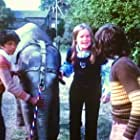 Phil Daniels, Linda Robson, Anoop Singh, and Bella in Anoop and the Elephant (1972)
