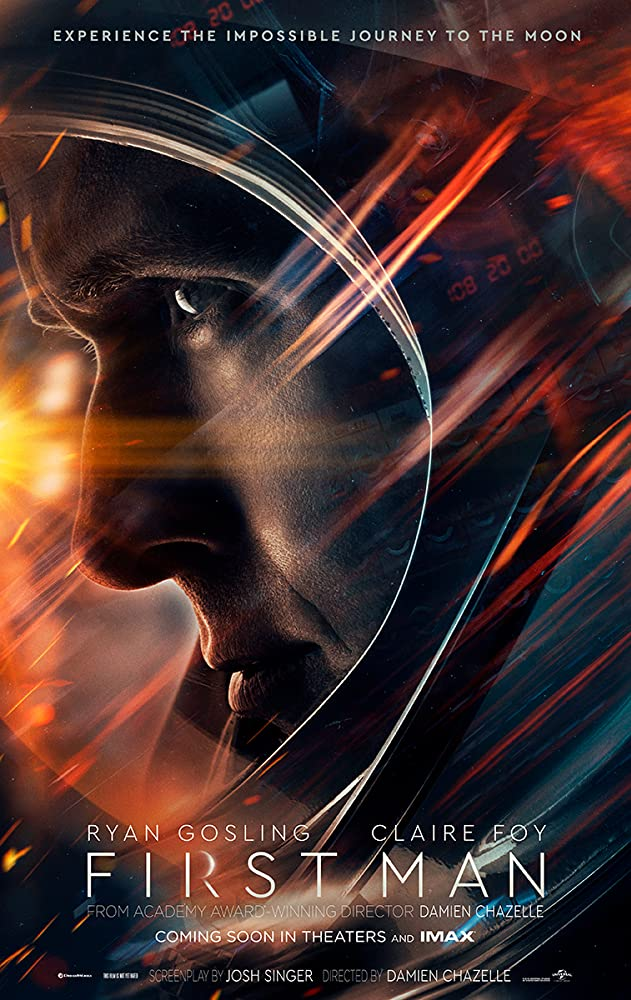 Ryan Gosling in First Man 2018