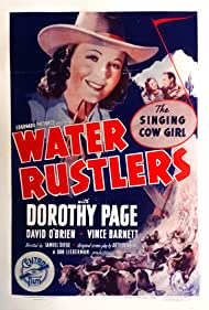 Vince Barnett, Dave O'Brien, and Dorothy Page in Water Rustlers (1939)