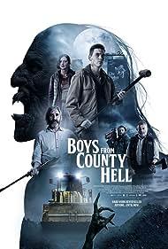 John Lynch, Nigel O'Neill, Michael Hough, Louisa Harland, and Jack Rowan in Boys from County Hell (2020)