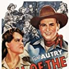 Gene Autry, Hugh Farr, Karl Farr, Bob Nolan, Lloyd Perryman, Sons of the Pioneers, Tim Spencer, and Ruth Terry in Call of the Canyon (1942)
