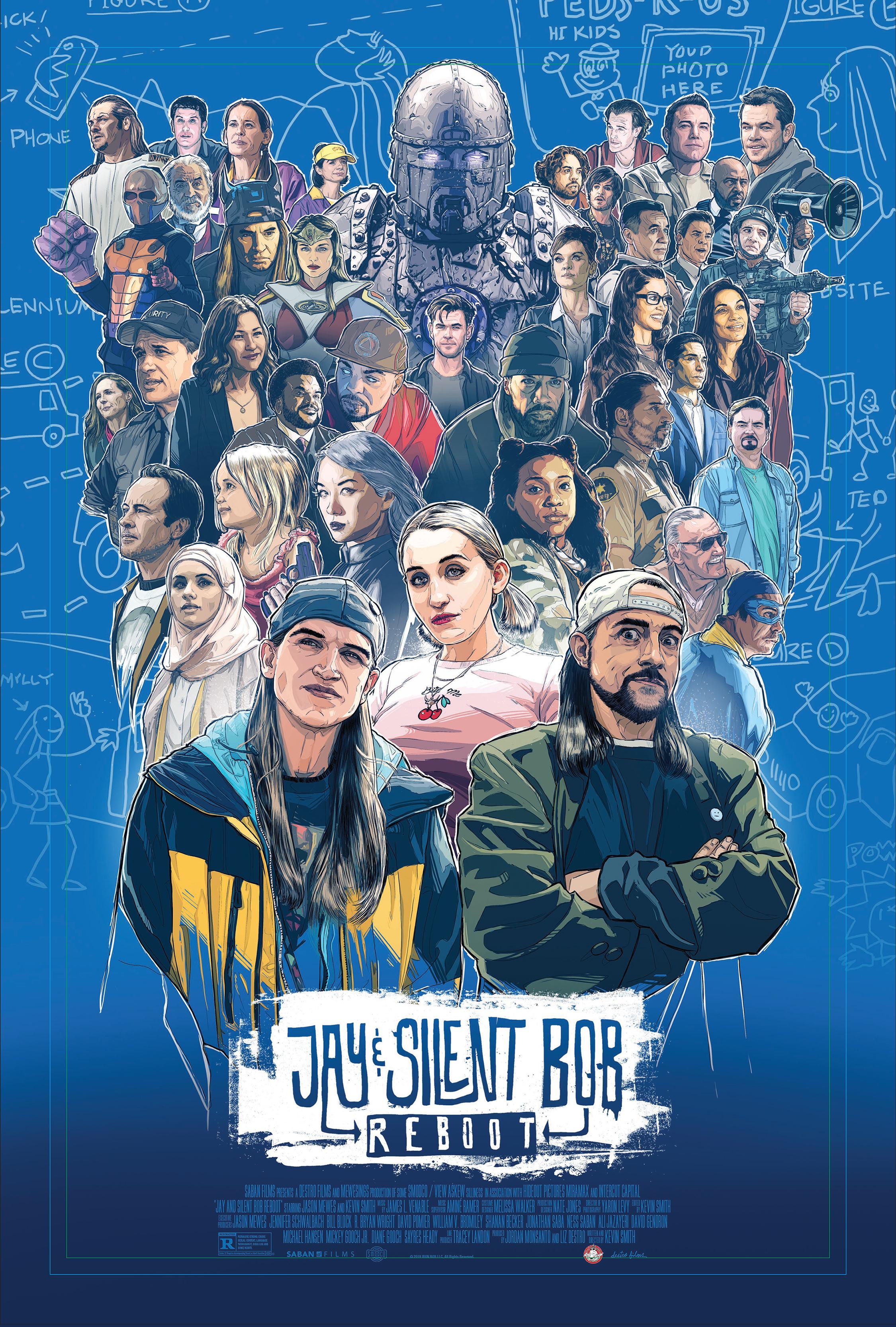DŽĖJUS IR TYLUSIS BOBAS (2019) / Jay and Silent Bob Reboot