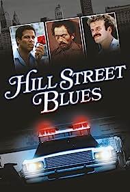 Robert Clohessy, Michael Warren, and Bruce Weitz in Hill Street Blues (1981)