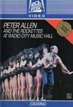 Peter Allen and the Rockettes at Radio City Music Hall