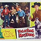 Sunset Carson, Joe Hiser, Stephen Keyes, Forrest Matthews, Polly McKay, Pat Starling, and Al Terry in Fighting Mustang (1948)