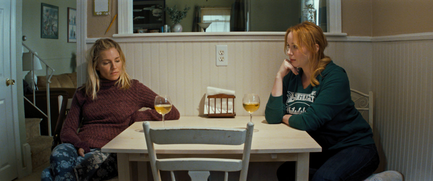 Christina Hendricks and Sienna Miller in American Woman (2018)