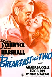 Breakfast for Two (1937) Poster - Movie Forum, Cast, Reviews