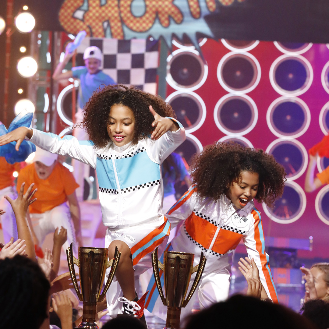 "Still of Anais Lee and Mirabelle Lee from Lip Sync Battle Shorties ""Twin Special"" episode"