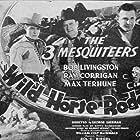 Ray Corrigan, Robert Livingston, and Max Terhune in Wild Horse Rodeo (1937)