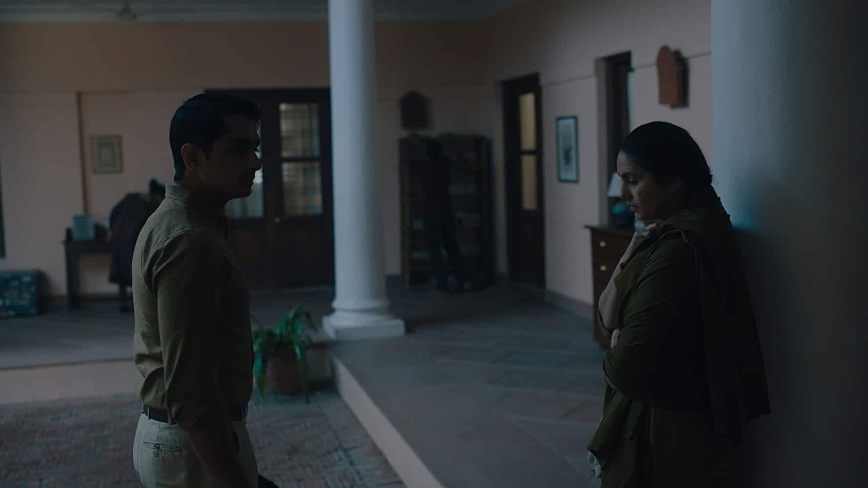 Siddharth and Huma Qureshi in Leila (2019)