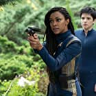 Blu del Barrio and Sonequa Martin-Green in Forget Me Not (2020)
