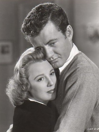 June Allyson and Robert Walker in The Sailor Takes a Wife (1945)