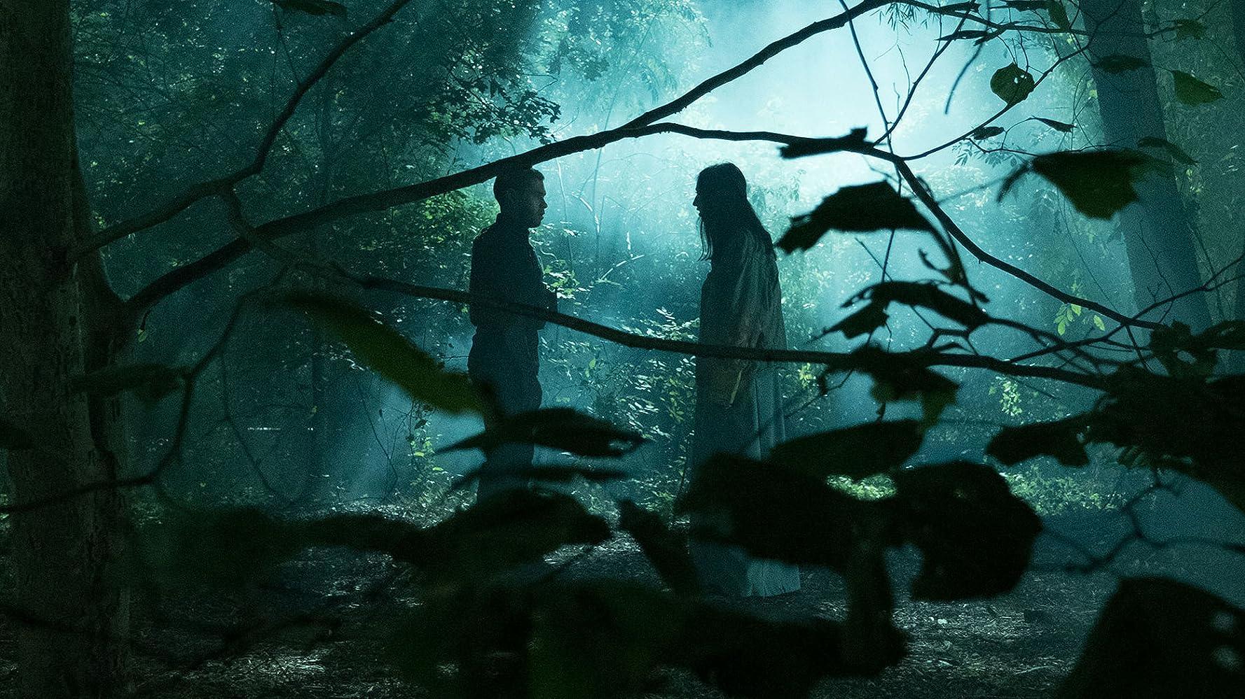 Gabriel Chavarria and Jessica Garza in The Purge (2018)
