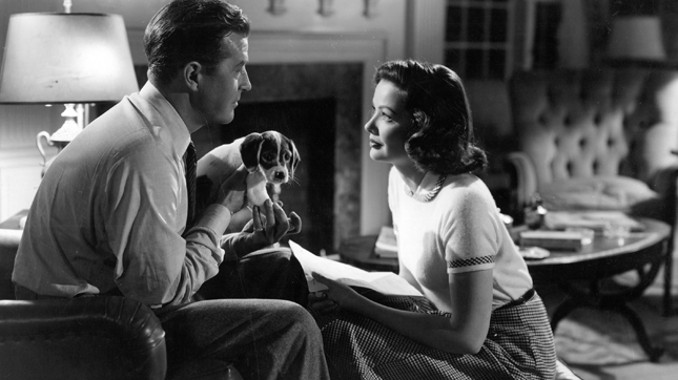 Gene Tierney and Ray Milland in Close to My Heart (1951)