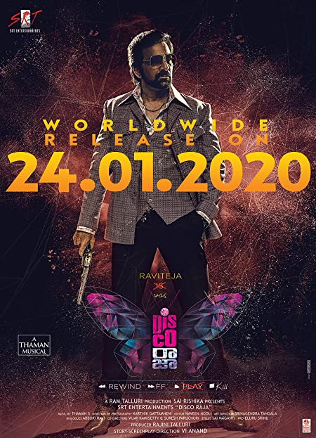 Disco Raja (2020) Telugu WEB-DL - 480P | 720P | 1080P - x264 - 400MB | 1.4GB | 2.4GB - Download & Watch Online  Movie Poster - mlsbd