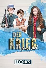 Arved Friese, Mina Christ, and Juri Gayed in Der Krieg und ich (2019)