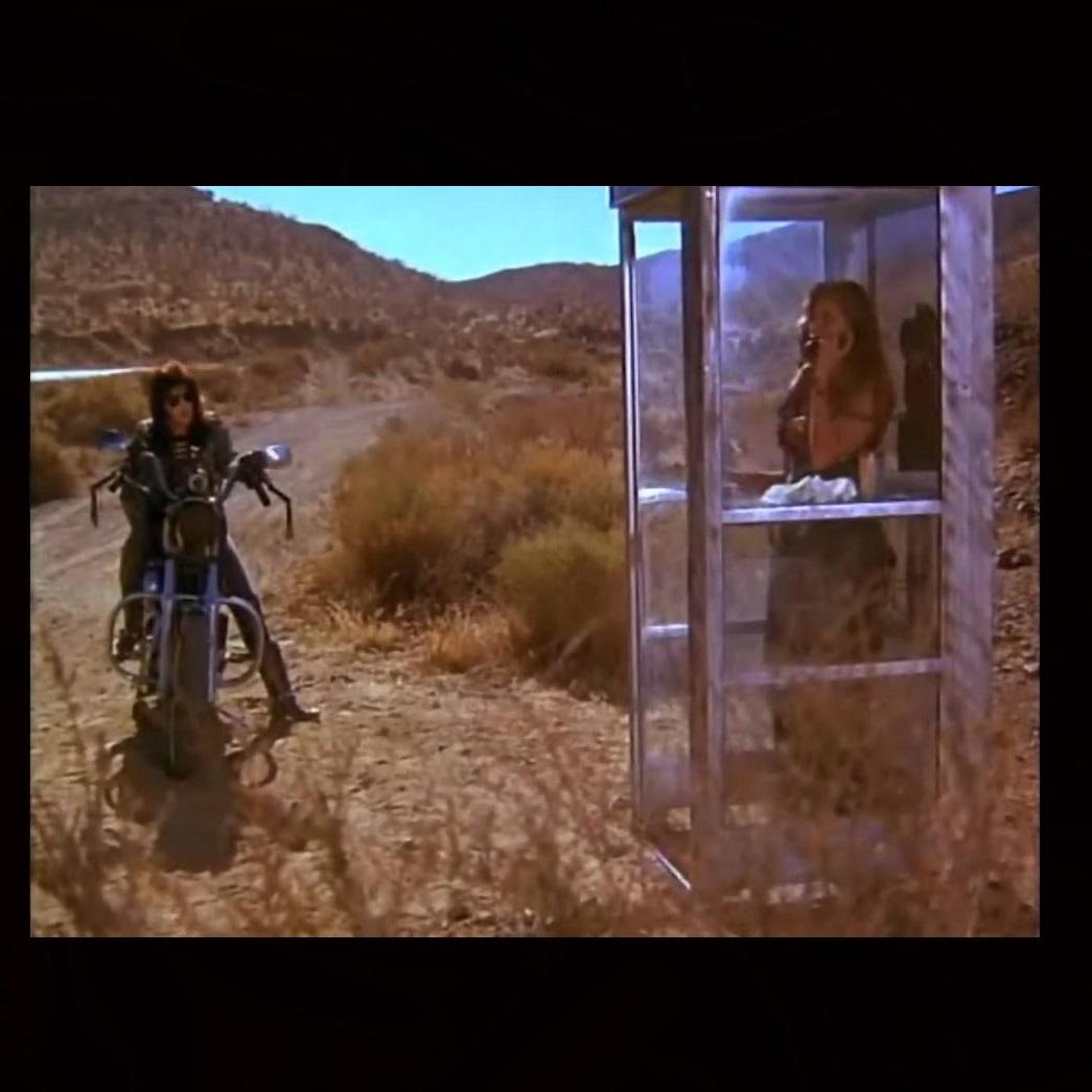 Catherine Carlen and Vicki Frederick in Chrome Hearts (1989)