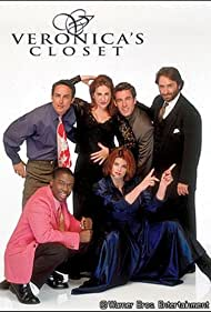 Kirstie Alley, Kathy Najimy, Dan Cortese, Wallace Langham, Daryl Mitchell, and Ron Silver in Veronica's Closet (1997)