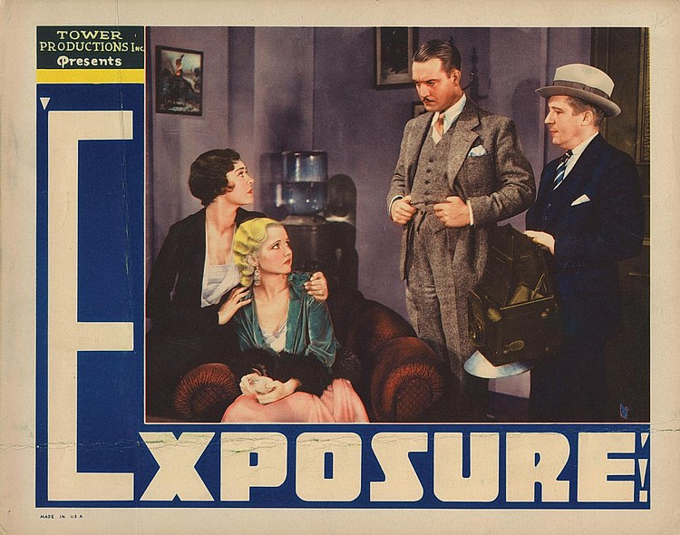 Walter Byron, Mary Kornman, Lila Lee, and Pat O'Malley in Exposure (1932)