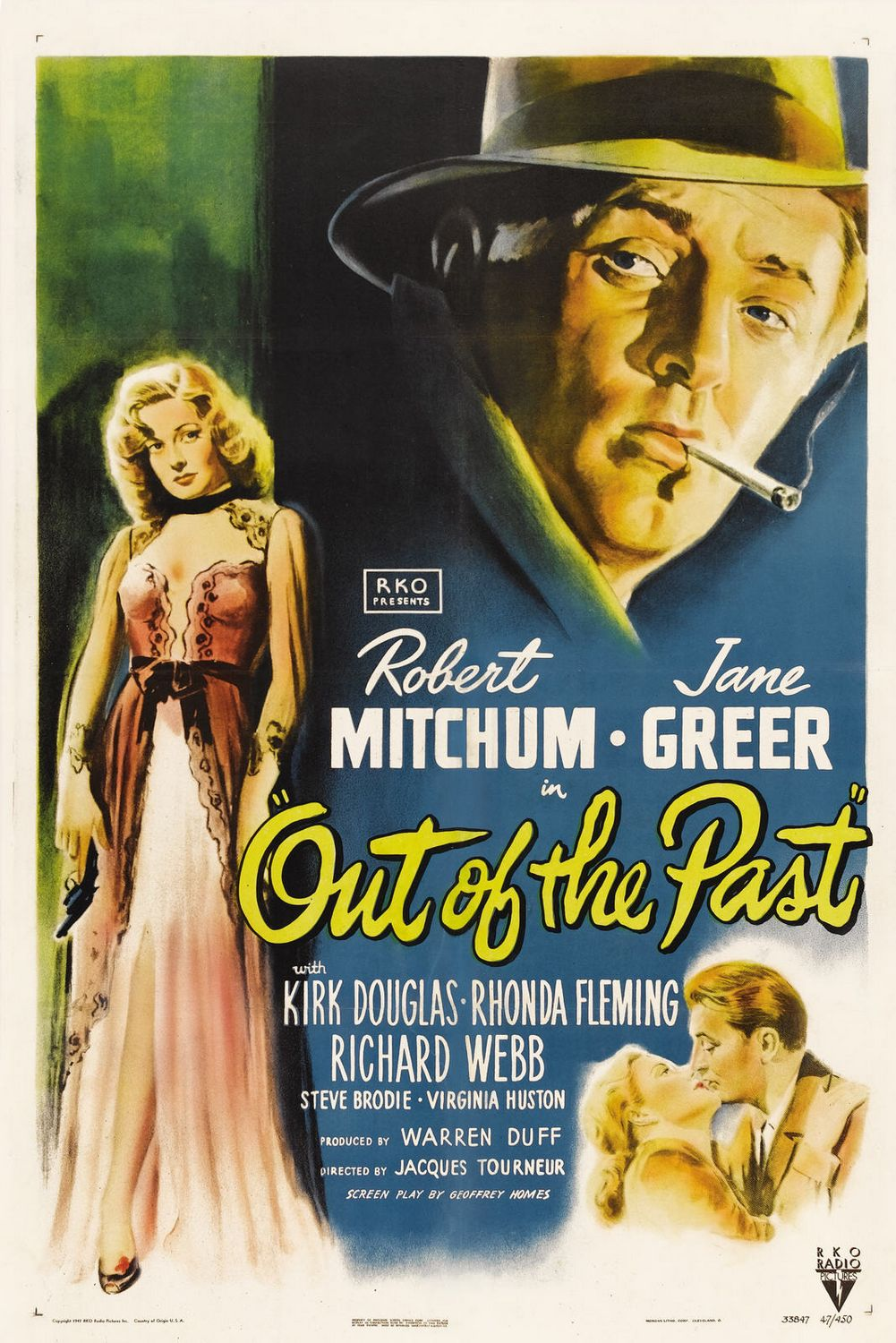 Image result for film stills for out of the past 1947