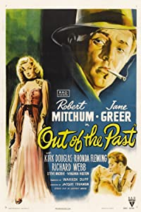 Ver películas online Out of the Past [320p] [720x320], Robert Mitchum, Virginia Huston, Richard Webb, Kirk Douglas