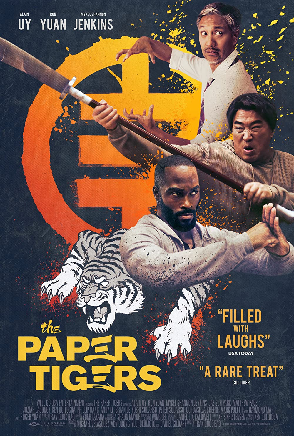 The Paper Tigers 2021 English 350MB HDRip Download