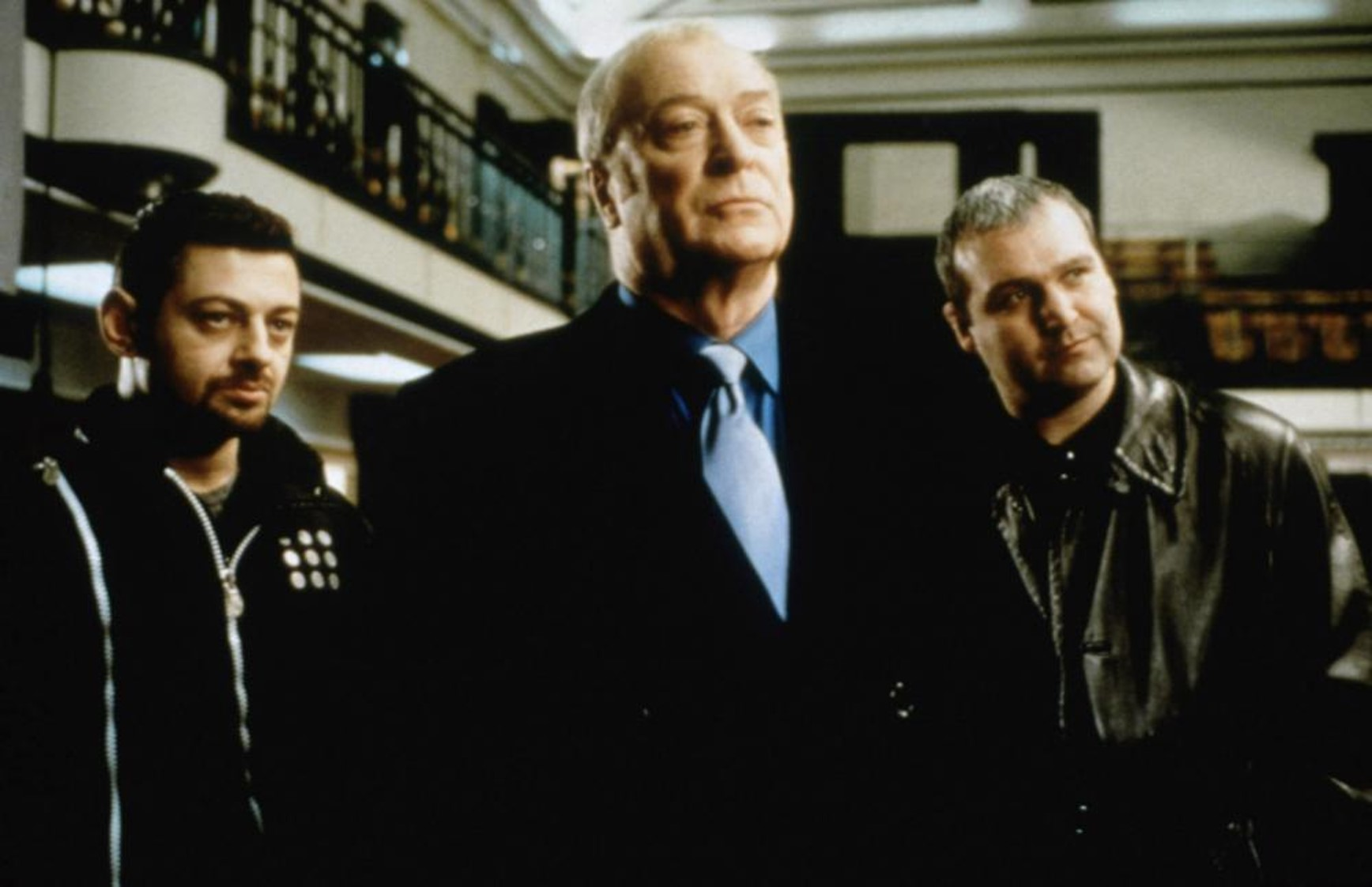Michael Caine, Frank Harper, and Andy Serkis in Shiner (2000)