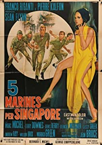 Cinq gars pour Singapour France