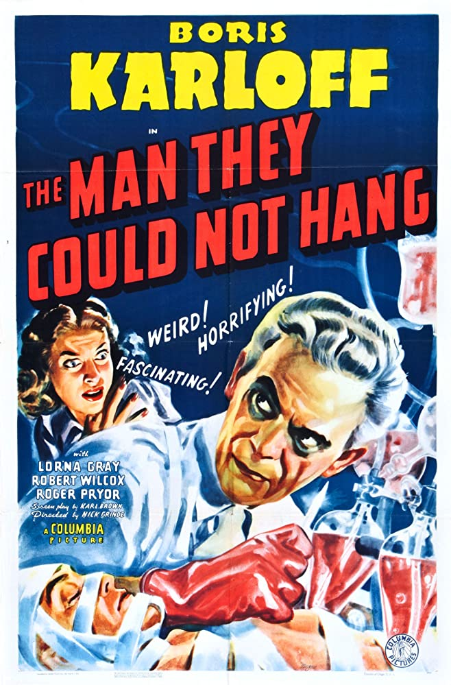 The Man They Could Not Hang (1939)
