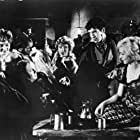 John Cairney, Peter Stephens, and Billie Whitelaw in The Flesh and the Fiends (1960)