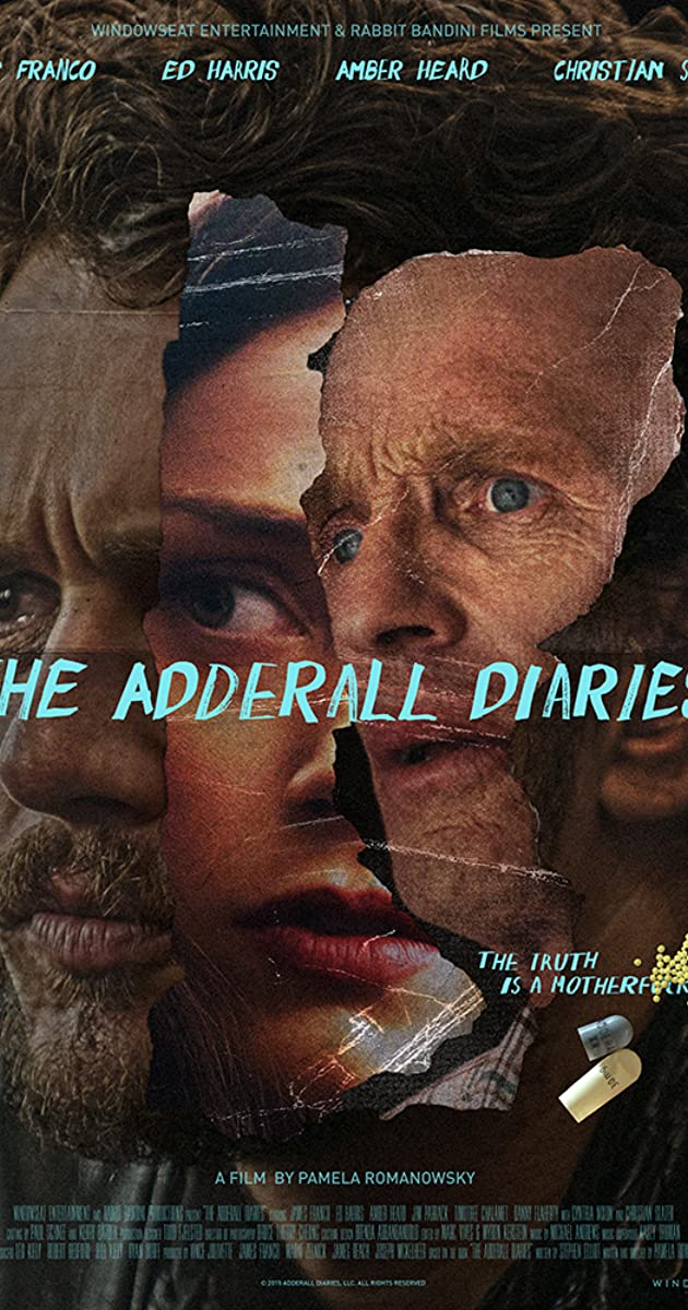 Subtitle of The Adderall Diaries