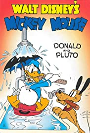 Donald and Pluto Poster