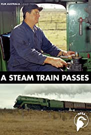 A Steam Train Passes Poster