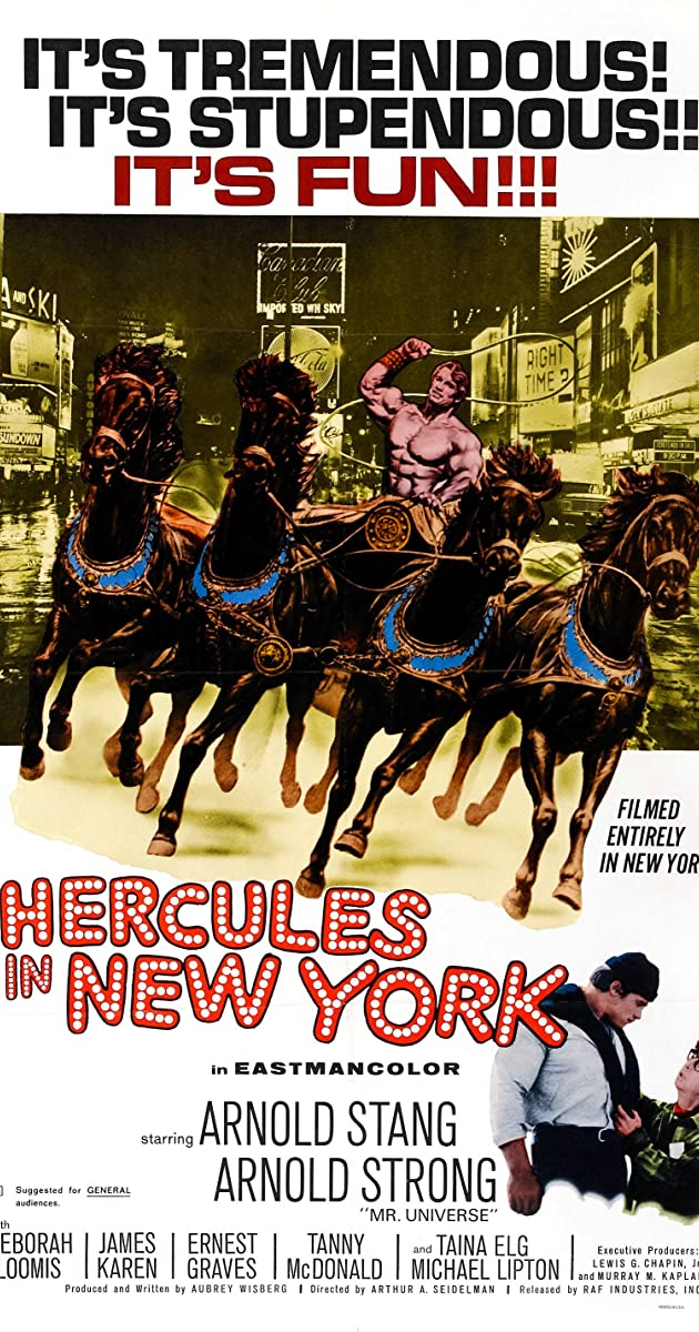 Subtitle of Hercules in New York
