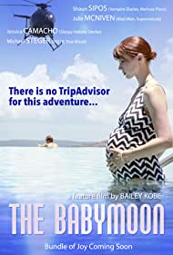 Shaun Sipos, Bailey Kobe, and Julie McNiven in The Babymoon (2017)