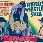 Ray Corrigan, Robert Livingston, Max Terhune, and Roger Williams in Riders of the Whistling Skull (1937)