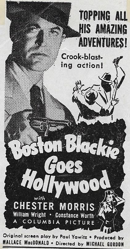 Chester Morris in Boston Blackie Goes Hollywood (1942)