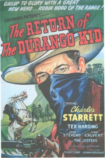 Charles Starrett in The Return of the Durango Kid (1945)