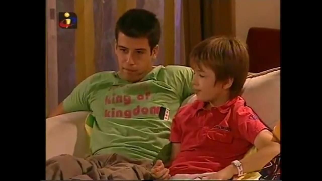 Frederico Barata and Bruno Belardo in Tempo de Viver (2006)