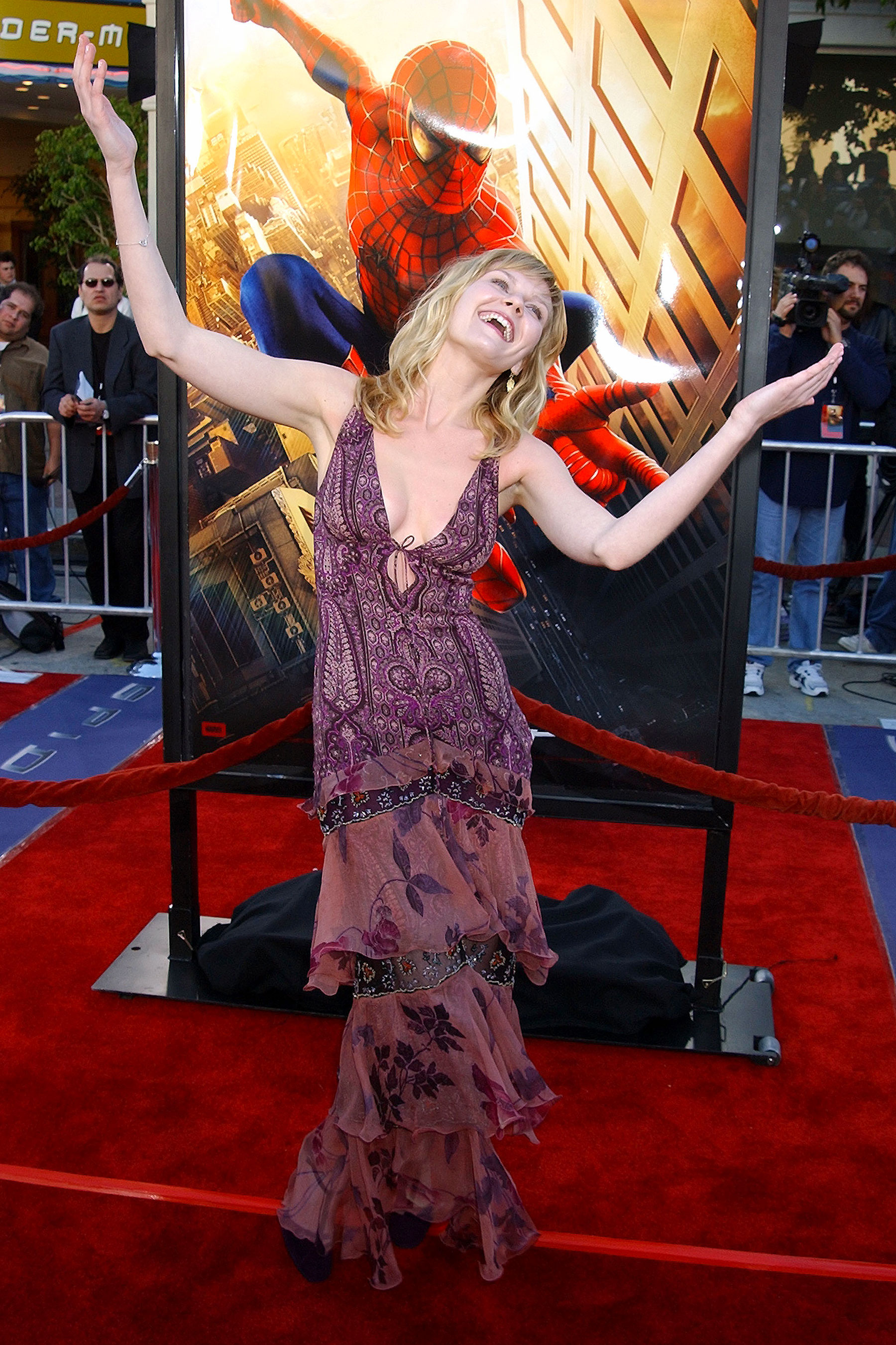 Kirsten Dunst at an event for Spider-Man (2002)