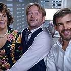 Alyssa Milano, Christopher Gorham, and Dallas Roberts in Insatiable (2018)