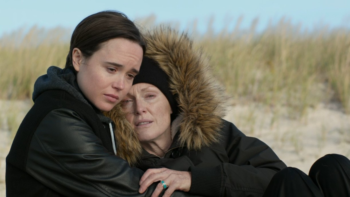 Julianne Moore and Ellen Page in Freeheld (2015)