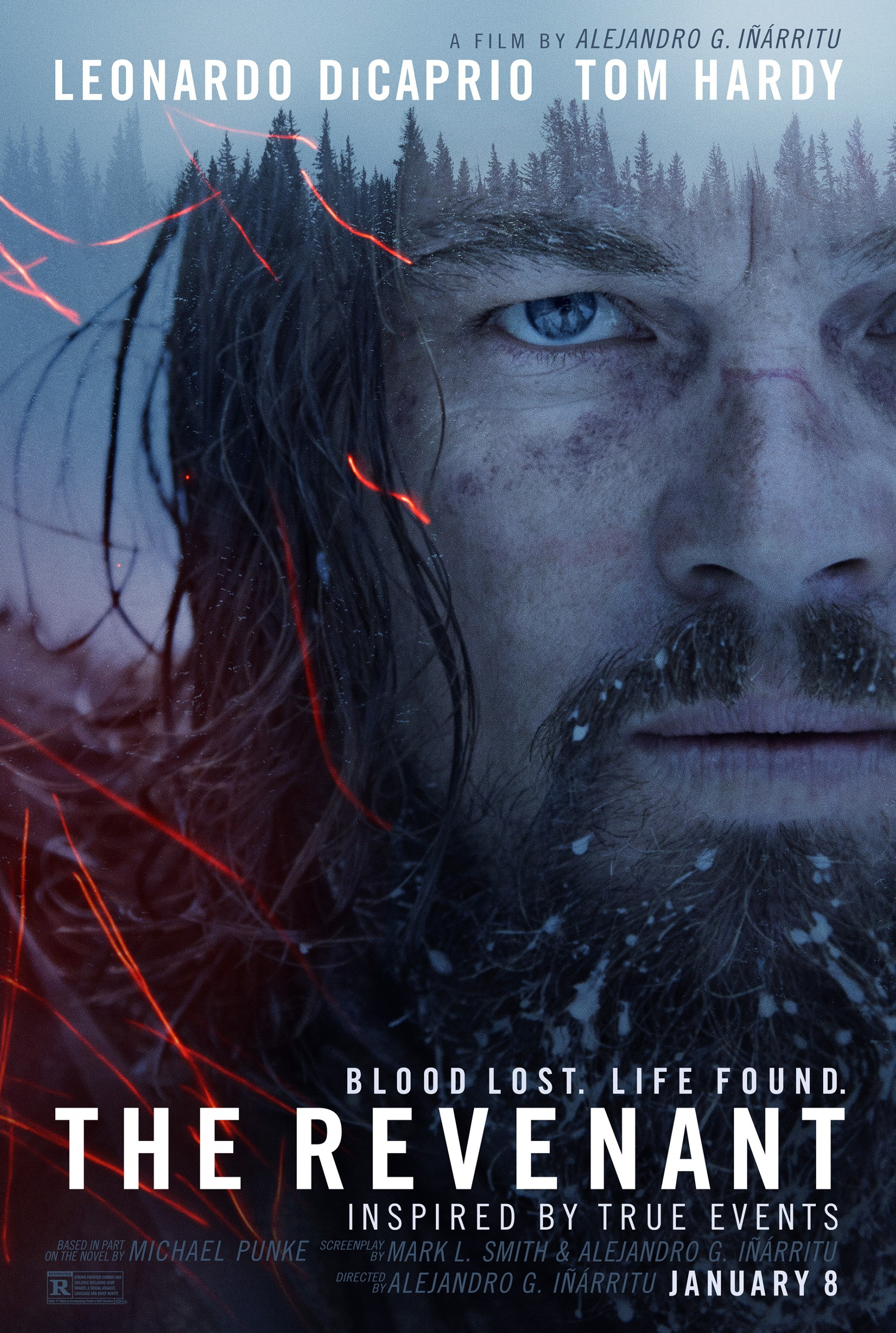 Image result for the revenant movie poster""